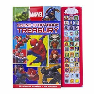 Sound Storybook Treasury (Marvel Heroes) New Board Book