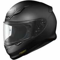 Shoei RF-1200 Full Face Snell/DOT Motorcycle Helmet - Matte Black - Size: Medium