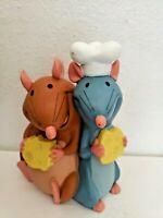 Disney Store Ratatouille Money Coin Bank Vinyl Rats Chef Cooking