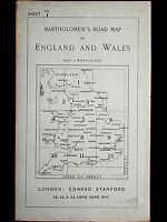 Bartholomew's Four Miles To the Inch Road of England and Wales New Series