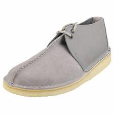 Clarks Originals Desert Trek Mens Grey Desert Shoes - 10 UK