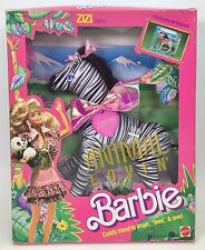 ANIMAL LOVIN' BARBIE ZIZI ZEBRA #2 NRFB