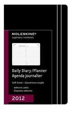 Moleskine 2012 12 Month Daily Planner Black Soft Cover Pocket (Moleskine Legenda