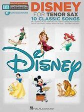 Easy Instrumental Play Along Disney Tsax Book With Audio Download (Hal Leonard E