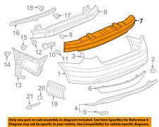 VW VOLKSWAGEN OEM 11-14 Jetta Bumper-Foam Impact Absorber Bar 5C6807251B