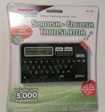 Franklin Learner Spanish English Translator Large Lcd & Keyboard Lrl-100 Bi-Dire