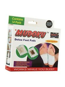 Mudoku Detox Foot Pads Contains 14 Pads Works while you sleep !!