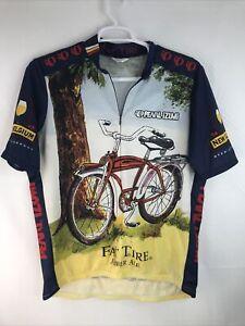 Pearl Izumi Mens Size XL Cycling Shirt Colorfull Made USA