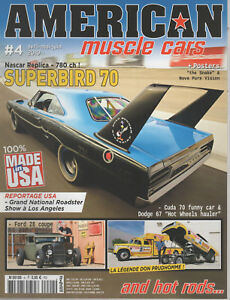 AMERICAN MUSCLE CARS 4 PLYMOUTH SUPERBIRD DODGE D-700 RAMP TRUCK 67 DON PRUDHOMM