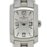 Auth Baume & Mercier Hampton 65340 Stainless Steel Quartz Women's Watch i#92761