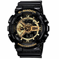 Casio watch Mens G - SHOCK black gold GA - 110 - gb - 1a quartz watch waterproo