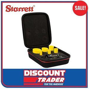 Starrett Fast Cut 6 Piece Electricians Hole Saw Set - KFC06021