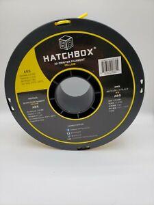 Yellow Hatchbox ABS 3.0mm — 1kg