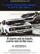 1977 ALLAN MOFFAT BATHURST WINNER FORD XC GT A3 POSTER AD SALES BROCHURE