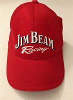 Jim Beam Nascar Racing Cap #7 Robby Gordon Motorsports Red  Hat Embroidered