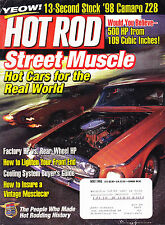 SHIPPED IN A BOX -  Hot Rod Magazine May 1998