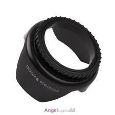 Professional Flower Shape Screw Mount Camera Lens Hood for Cannon(55mm)