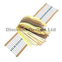 Range of Low Power Carbon/Metal Film Resistors0.25W/0.4W 1%/5% Pack of 10 43K-