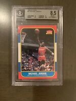 Michael Jordan rookie BGS 8.5 Fleer 1986-87 #57