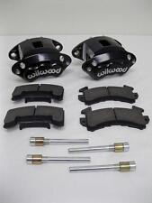 Wilwood D154 Front Caliper Kit - Black Powder Coated Caliper 140-12099-BK w Pads