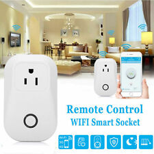 WiFi Timer Switch Smart Socket Outlet Work With Amazon Echo Dot Voice Contr