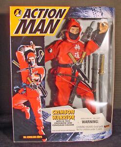 Hasbro Action Man Crimson Warrior from 1993 (German Packaging)
