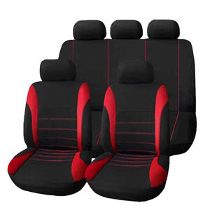 1set Seat Cover 9 pcs Full Car Styling Seat Cover for Auto Accessories Interior