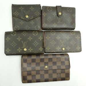 LOUIS VUITTON purse wallet 5-piece set Summary Monogram Damier M61660 M61730...