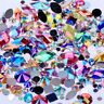3D Nail Art Rhinestones AB Glitters Beads Acrylic Tip Manicure Wheel  Decoration