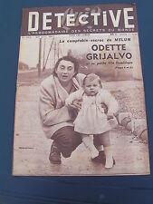 Détective 1951 252 DAMMARIE SAINT AIGNAN CHARBONNIèRES LENS MICHEL EN BEAUMONT