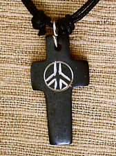 CND CARVED PENDANT MENS WOMENS BOYS GIRLS NEW AGE HIPPIE NECKLACE   N0287