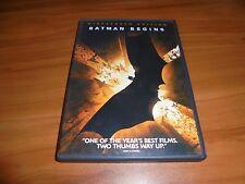 Batman Begins (Dvd, 2005, Widescreen) Christian Bale