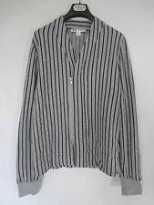 Y-3 Johji Yamamoto Striped Zip-up Sweatshirt (M)