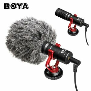 BOYA BY-MM1 Heart Shot Bullet Microphone for Smartphone SLR Camera Camcorder