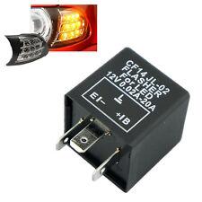 New 3-Pin CF14 Car Flasher Relay to Fix LED Light Indicators Blink Flash 12V WE1