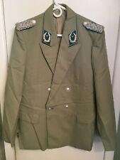 East German AIR FORCE MAJOR Officers Parade Dress Uniform Jacket