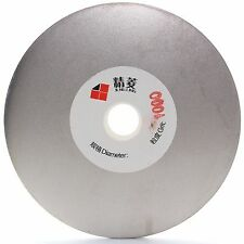 "4"" inch Grit 1000 Fine Diamond Grinding Disc Abrasive Wheel Coated Flat Lap Disk"