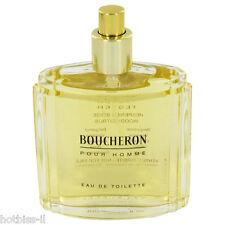 Boucheron Pour Homme Cologne Perfume For Men 3.4 oz 100 ml New Edt Spray TESTER