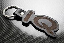 Toyota IQ Luxury Leather Keyring Keychain Schlüsselring Porte-clés Cygnet