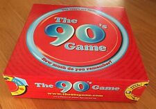 """The 90's Game """"HOW MUCH DO YOU REMEMBER?"""" The 90's Are Back 2003  Original Box"""