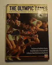 THE OLYMPIC GAMES RECORDS & REMINISCENCE EDITORS OF SI TIME LIFE BOOKS HC  BX32