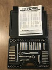 Vtg CRAFTSMAN TOOLS USA 33670- 70 Pc Mechanics Tool Set w/ Case Made In USA