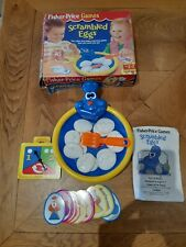 Rare Fisher Price Scrambled Eggs Toy game 1994 Vintage Boxed only one on Ebay UK