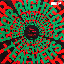 """POOR RIGHTEOUS TEACHERS Holy Intellect / Self-Styled Wisdom 12"""" PROFILE US 1990"""