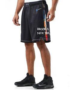 Nike NBA 2020/21 Brooklyn Nets City Edition Swingman Perfomance Shorts L
