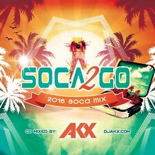 SOCA TO GO 2016 MIX CD