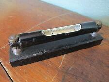 """Vintage Machinist Level 5 3/4"""" Tool Gauge V block base"""