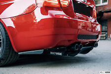 BMW M3 E90 FANCYWIDE Rear diffuser - Tuning Bolt on