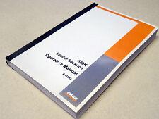 Case 580k Phase 1 Loader Backhoe Operators Manual Owners Maintenance Book New