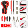 16pcs/Set Multifunction Digital Multimeter Test Leads Probes Voltage Meter Cable
